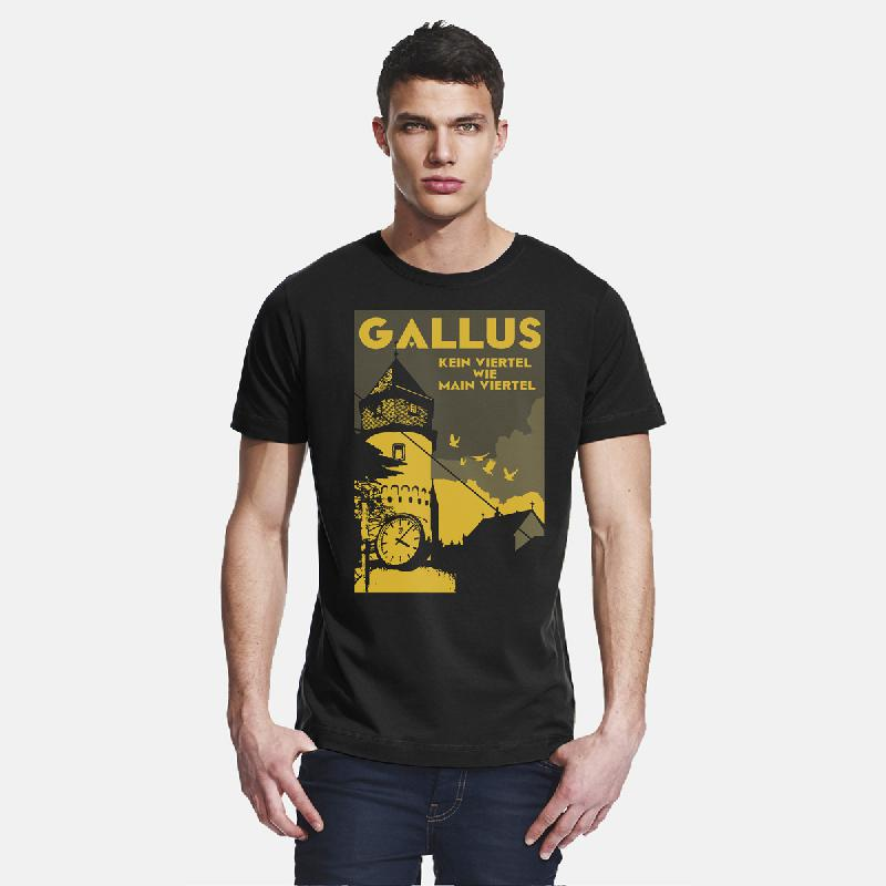 Journal Frankfurt Gallus T-Shirt, black