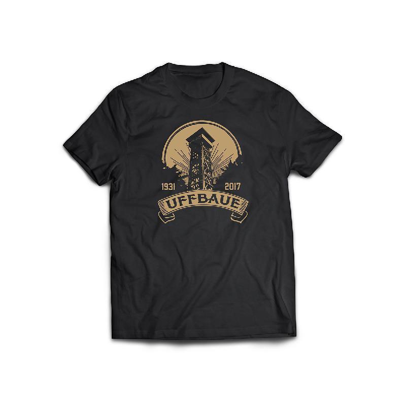 Journal Frankfurt Goetheturm Charity T-Shirt T-Shirt Schwarz
